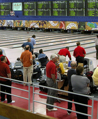 Amateur bowling tournament